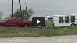 All Terrain trailer connection easy with Automated Safety Hitch