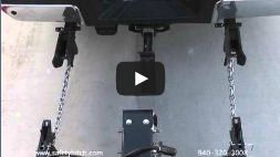 Auto Align your trailer to your vehicle with the Automated Safety Hitch System