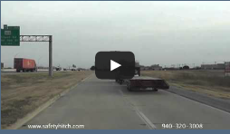 Controllability for your trailer easy with Automated Safety Hitch